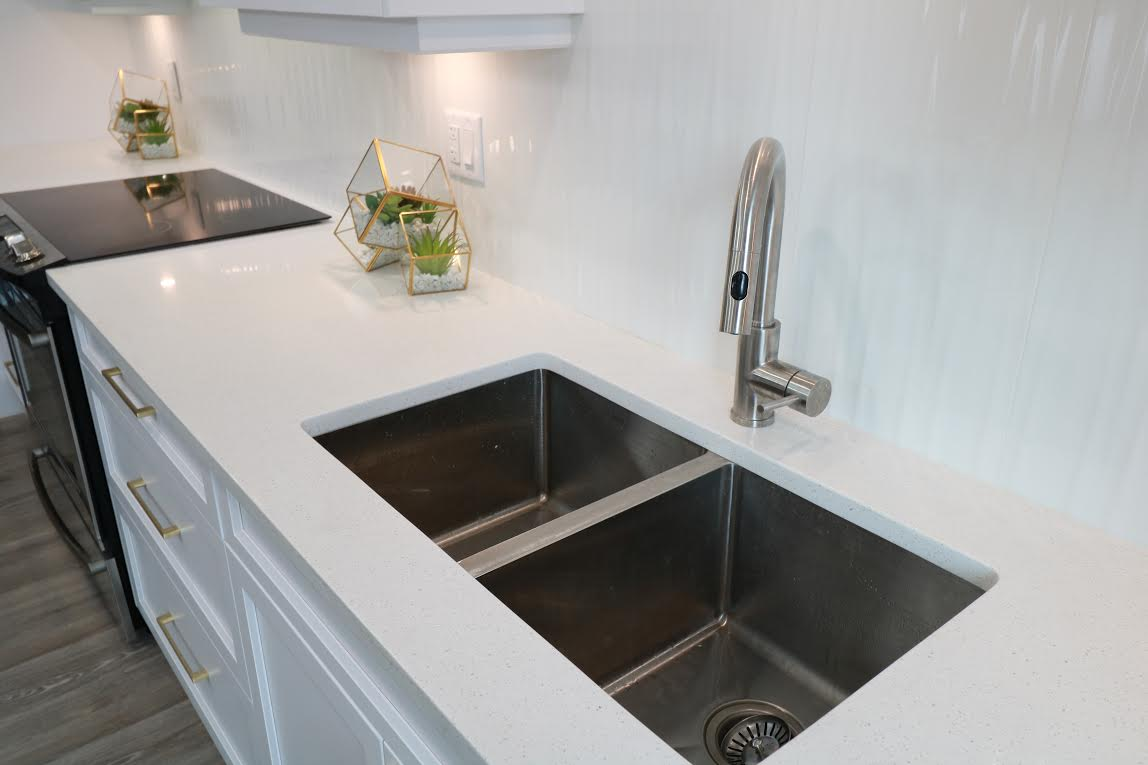 After- Refacing sink