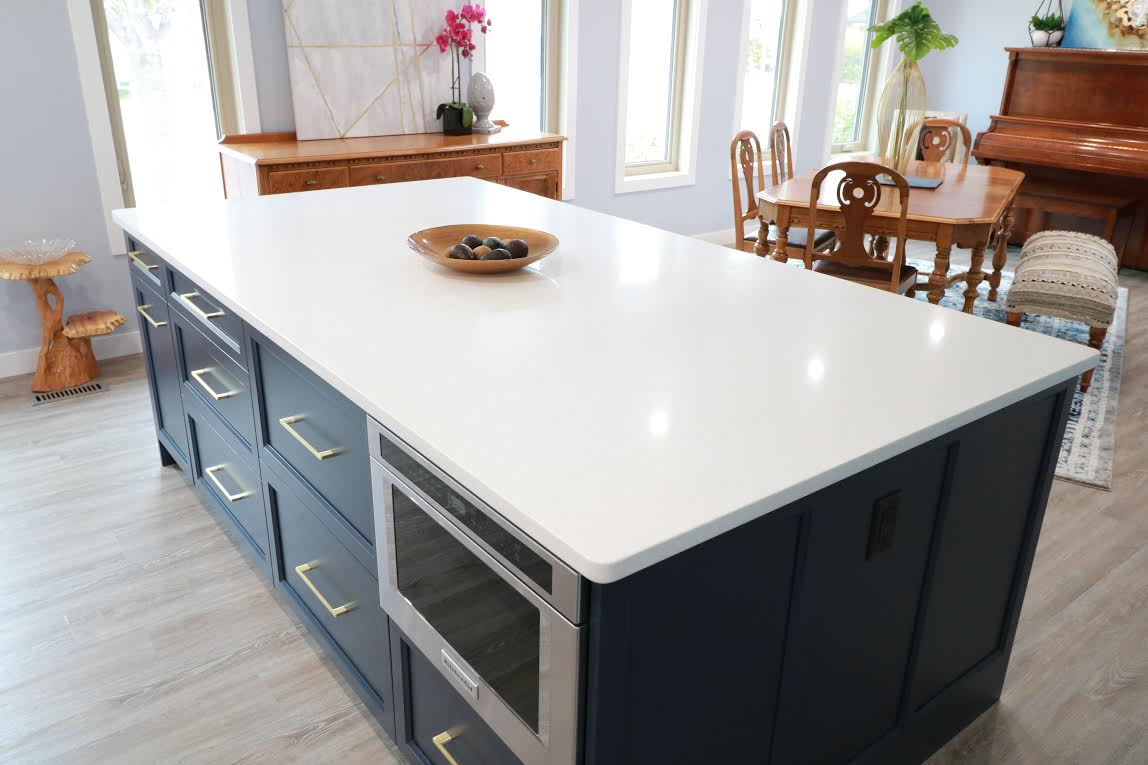 After- Refacing Island